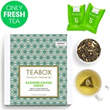 Teabox Kashmiri Kahwa Green Tea with 16 Teabags, 32g (CXKKG_TB)