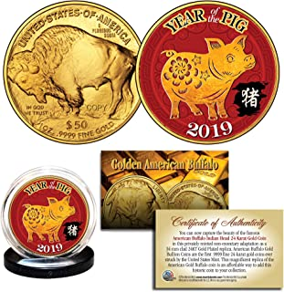gold clad buffalo coin