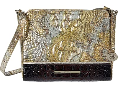 Brahmin Katla Carrie Crossbody (Symphony) Handbags