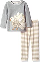 Mud Pie Baby Girls' Turkey Tunic and Legging Set