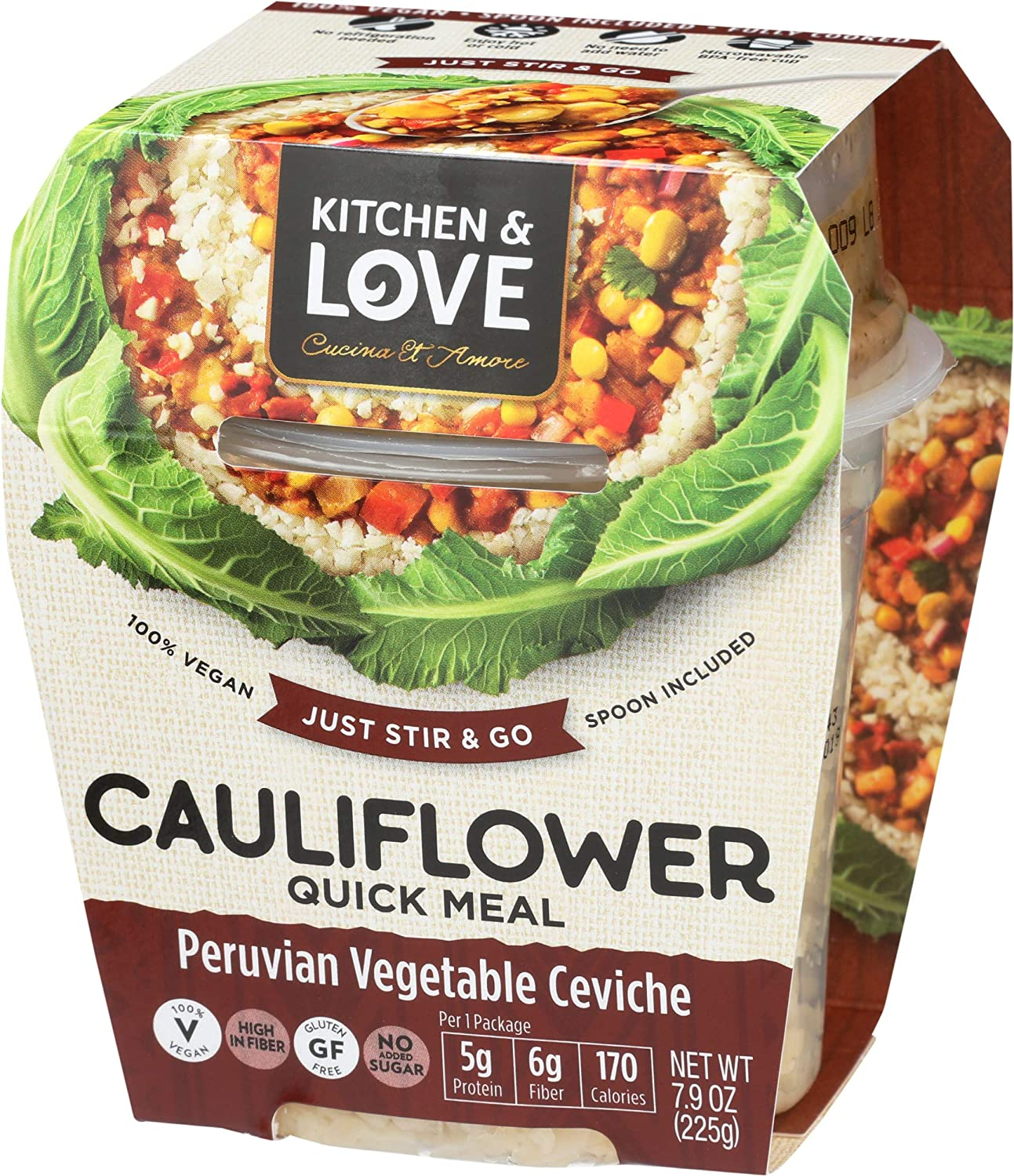 Kitchen Love Peruvian Vegetable Super beauty product restock quality top Spring new work Meal Ceviche Cauliflower Quick