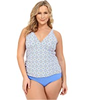 Athena - Plus Size Santorini Removable Soft Cup Halterkini