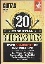 Guitar World: 20 Essential Bluegrass Licks: Over 60 minutes of instruction!