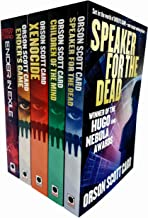 Ender Saga Series 5 Books Collection Set by Orson Scott Card (Ender's Game, Speaker for the Dead, Xenocide, Children Of Th...