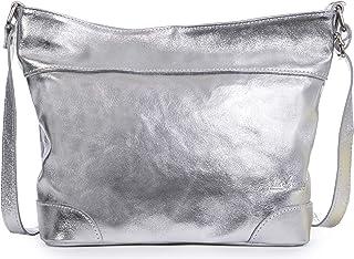 LiaTalia - Jane - Borsa a spalla vera pelle italiana di alta qualità, borsa elegante grande capacità