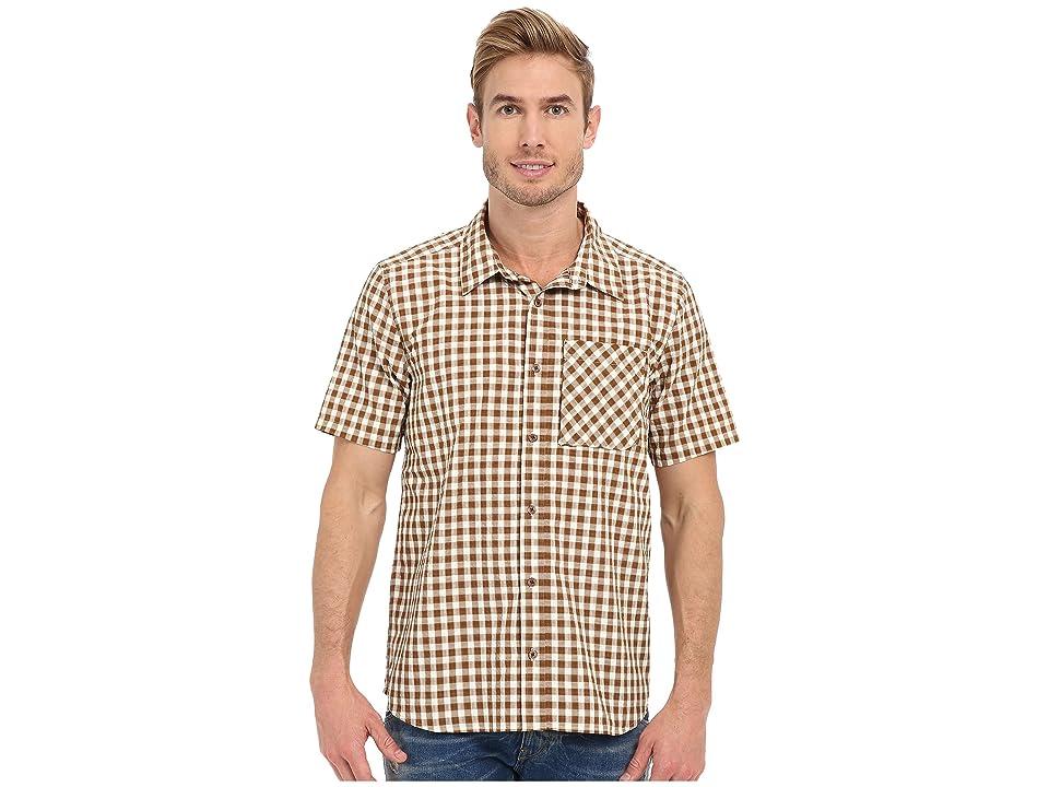 Toad&Co Pilotlight Short Sleeve Shirt (Acorn) Men