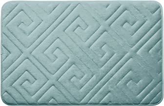 Bounce Comfort Caicos Extra Thick Premium Memory Foam Bath Mat with BounceComfort Technology, 17 x 24