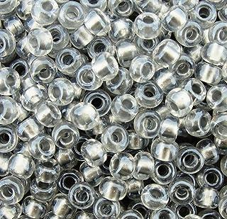 metallic silver large 6//0 Glass beads