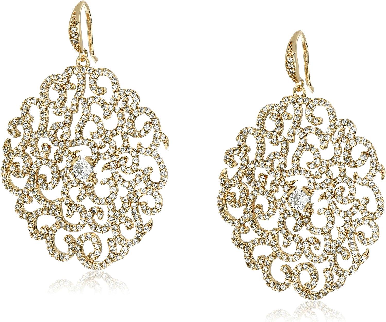 Carolee Gold Tone Earrings