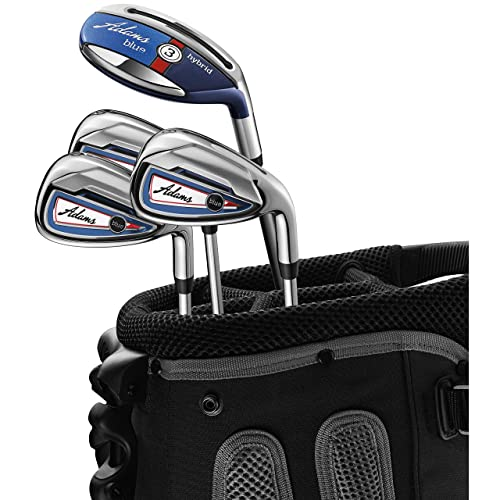 Product Image 1: Adams Golf Blue Combo Irons