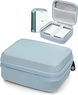Protective Case for Fujifilm INSTAX Share SP-2 Smart Phone Printer by WGear, Mesh Pocket for Cable and Printing Paper (Sky...