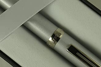 Sheaffer Prelude Rollerball Pen, Silver Shimmer with Nickel Appointments with Blue Refill