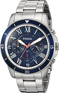 Mens FS5238 Grant Sport Chronograph Stainless Steel Watch