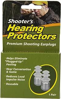 Acu-Life Ear Plugs/Earplugs for Hunting, Shooting | Shooter's Hearing Protectors | 1 Pair | NRR 18