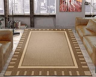 Silk Road Concepts SR-JRD8838-5X7 Outdoor Indoor Area Rugs, 5'3