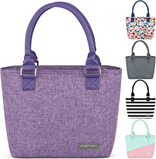 Simple Modern 4L Cara Lena Lunch Bag for Women - Purple Insulated Lunch Box -Lilac