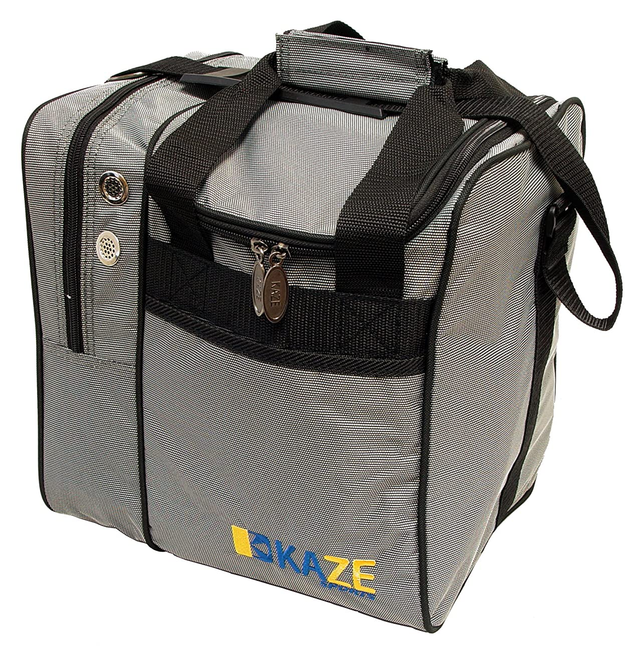 KAZE SPORTS Deluxe Single Ball Bowling Tote Bag