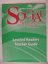 Harcourt Social Studies: Leveled Readers Teacher Guide, Grade 3