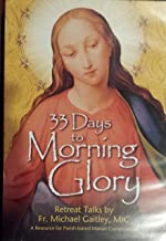 33 Days to Morning Glory, dvd, Retreat Talks by Fr. Michael Gaitley, 6-week guided retreat Marian consecration (recommended for the Small-Group Program)
