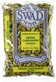 Great Bazaar Swad Green Cardamom, 7 Ounce