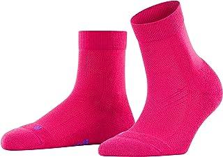 FALKE Socken Cool Kick weiches Material Damen schwarz weiß viele weitere Farben verstärkte Damensocken ohne Muster atmungsaktiv einfarbig mit Plüschsohle kühlend 1 Paar