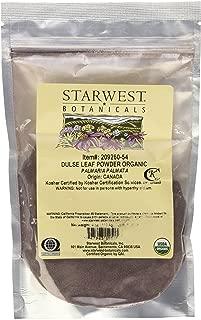 Starwest Botanicals Organic Dulse Leaf Powder - 4 oz (113 g)