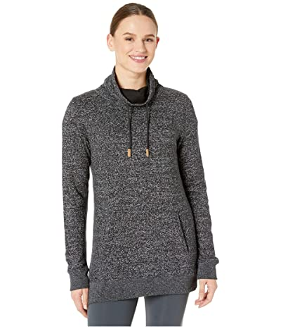 tentree Yampa Long Sleeve Crew (Meteorite Black) Women