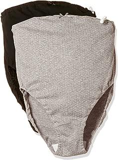7308 玫瑰太太 亲肤 孕妇内裤 超值2条装 *棉 Eグレードット+ブラック無地 マタニティM-L