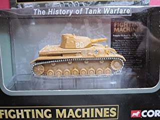 Corgi Pzkpfw IV Ausf G Afrika Korps Tank Fighting Machines - History of Tank Warfare Series CS90107