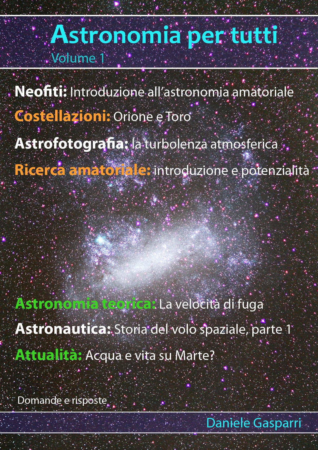 Download Astronomia Per Tutti: Volume 1 (Italian Edition) 