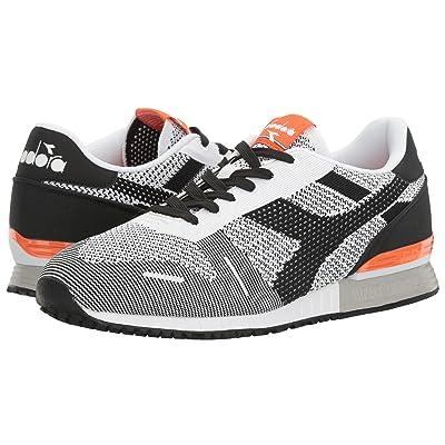 Diadora Titan Weave (Black/White/Orange) Athletic Shoes