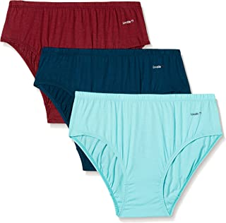 Lovable Women's Cotton Brief (Pack of 3)(Colors May Vary)
