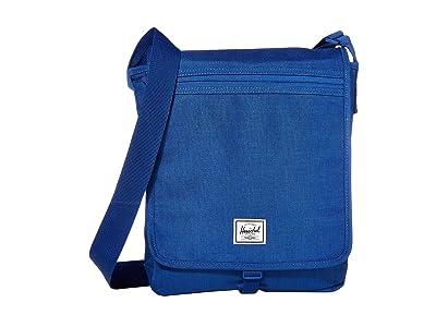 Herschel Supply Co. Lane (Monaco Blue Crosshatch) Messenger Bags
