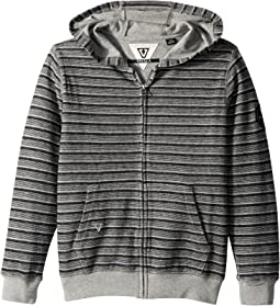 VISSLA Kids - Ucluelet Full Zip Hooded French Terry (Big Kids)