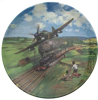 Bradford Exchange Royal Doulton Tempest Racing Home Heroes of The Sky Plate CP676