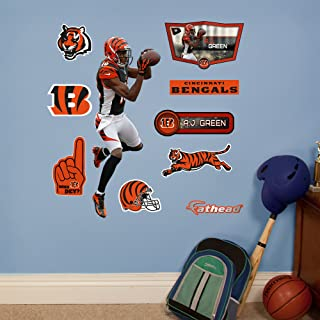 Fathead NFL Cincinnati Bengals A.J. Green: Fathead Jr - Large Officially Licensed NFL Removable Wall Decal - 15-16869