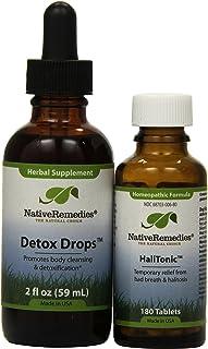 Native Remedies HaliTonic and Detox Drops ComboPack