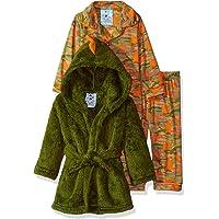 Buns Kidz Baby Boys 3 Piece Robe Sleepwear Set