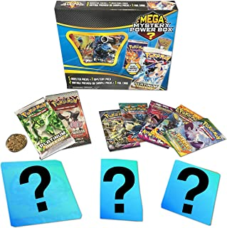 Pokemon TCG: Mystery Power Box #1-5 Booster Pack + A Foil Card + Factory Sealed Pack