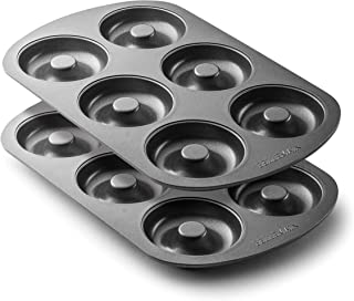 Bellemain Nonstick 6-Well Donut Pan - Set of 2