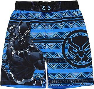 c431d31190 Marvel Comics Black Panther Graphic Swim Trunk Shorts