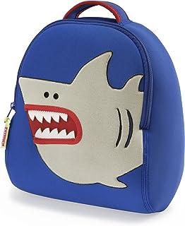 Dabbawalla 小鲨鱼背包,蓝色/银色