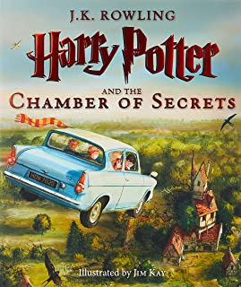 Harry Potter and the Chamber of Secrets: The Illustrated Edition (Illustrated), 2