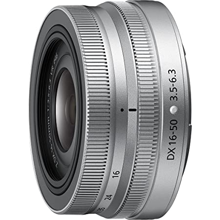 Nikon 標準ズームレンズ NIKKOR Z DX 16-50mm f/3.5-6.3 VR シルバー Zマウント DXレンズ NZDXVR16-50SL