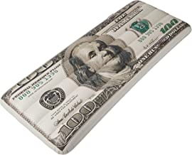 Jet Creations Inflatable $100 hundred dollar bill pool floatie ridable blow up summer beach swimming pool party lounge raft decorations toys kids adults 72 inch FUN-USD100