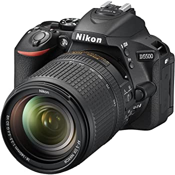 Nikon D5500 - Cámara digital Reflex de 24.2 MP + AFS DX 18-140 mm ...