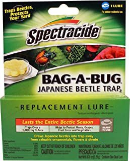 SPECTRACIDE BAG-A-BUG JAPANESE BEETLE TRAP LURE (pack of 12)