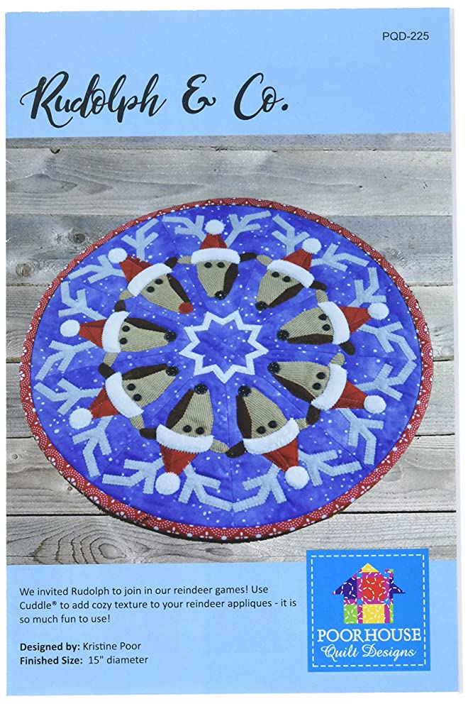 Poorhouse Quilt Designs PQD-225 Pattern