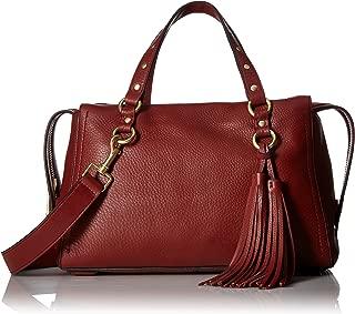 Cole Haan Cassidy Zip Satchel Leather Bag