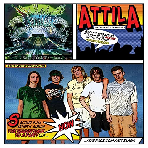 Soda in the water cup, a song by attila on spotify.